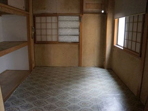 回収後のお部屋の画像