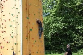 Bild: Kletter-Kindergeburtstag