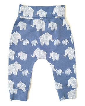 Bio Kinder Haremhose Elefanten
