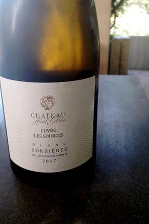Bollywood Brunch - Vin blanc Corbières - Château Haut Glénon - Cuvée Les Sources 2017