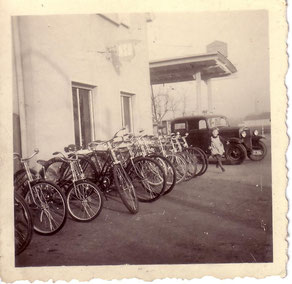 Fahrradverkauf auf der alten Ranch