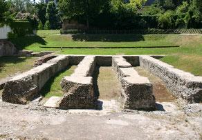 Resti dell'arena romana
