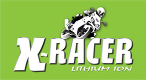 Unibat X-Racer Lithium-Ionen Batterien Logo