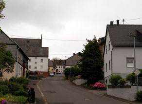 Unterdorf - Blick in Richtung Oberdorf 2016
