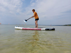 SUP Stand Up Paddling Useriner See