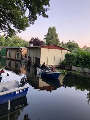 Angelboot Verleih mieten Wesenberg Mirow