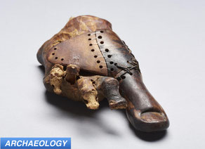 Scientists Examine 3,000 Year Old Egyptian Prosthesis
