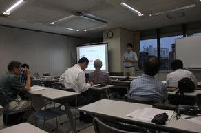 田村千尋理事長の発表