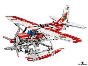 Im Paket Lego 42040 sind 578 Einzelteile mit einer Anleitung enthalten.