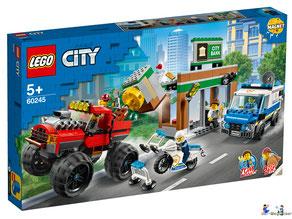 """Bei Bestellung im Onlineshop der-Wegweiser erhalten Sie das Lego Paket 60245 """"Raubüberfall mit dem Monster-Truck""""."""