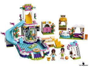 Im Paket Lego 41313 sind 589 Einzelteile enthalten.