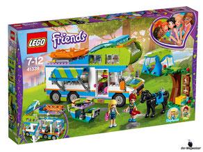 """Bei Bestellung im Onlineshop der-Wegweiser erhalten Sie das Lego Paket 41339 """"Mias Wohnmobil""""."""