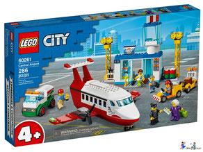 Bei der Bestellung im Onlineshop der-Wegweiser erhalten Sie das Lego Paket 60261 Lego City Flugzeug.