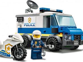 Die Besonderheit im Lego Paket 60245 ist ein Gepanzertes Fahrzeug und einem super schnellem Töff.