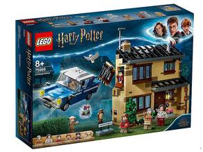 """Bei der Bestellung im Onlineshop der-Wegweiser erhalten Sie das Lego Harry Potter Paket 75968 """"Ligusterweg 4""""."""