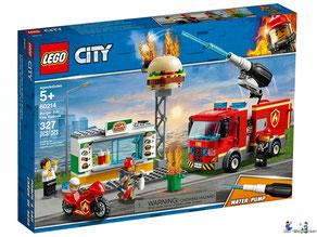 Bei der Bestellung im Onlineshop der-Wegweiser erhalten Sie das Lego Paket 60214 Lego City Feuerwehreinsatz im Burger Restaurant.