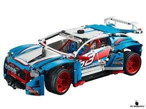 Im Paket Lego 42029 sind 1005 Einzelteile und eine Anleitung enthalten.