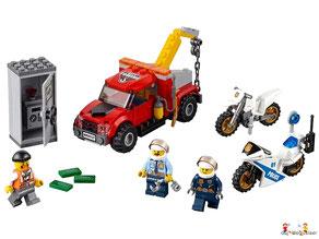 Im Paket Lego 60232 Autowerkstatt sind 234 Einzelteile enthalten.