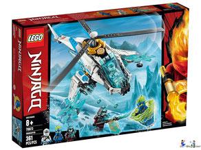 """Bei Bestellung im Onlineshop der-Wegweiser erhalten Sie das Lego Paket 70673 """"ShuriCopter""""."""