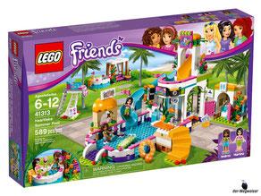 """Bei der Bestellung im Onlineshop der-Wegweiser erhalten Sie das Lego Paket 41313 """"Heartlake Freibad""""."""