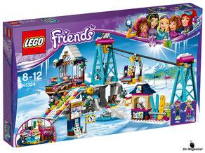 """Bei Bestellung im Onlineshop der-Wegweiser erhalten Sie das Lego Paket 41324 """"Skilift im Wintersportort""""."""