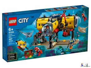 """Bei Bestellung im Onlineshop der-Wegweiser erhalten Sie das Lego Paket 60265 """"Meeresforschungsbasis""""."""