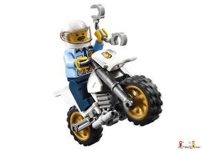 Die Besonderheit im Lego Paket 60232 Autowerkstatt ist die funktionierende Autowaschanlage.