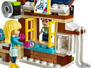 Die Besonderheit im Lego Paket 41322 ist ein Brezelladen.