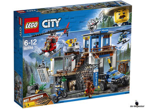 """Bei Bestellung im Onlineshop der-Wegweiser erhalten Sie das Lego Paket 60174 """"Hauptquartier der Bergpolizei""""."""