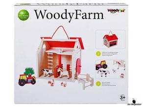 """Bei der Bestellung im Onlineshop der-Wegweiser erhalten Sie das Woody Paket """"Bauernhof mit Zubehör""""."""