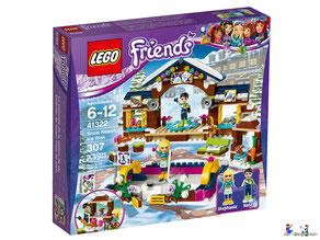 """Bei Bestellung im Onlineshop der-Wegweiser erhalten Sie das Lego Paket 41322 """"Eislaufplatz im Wintersport""""."""