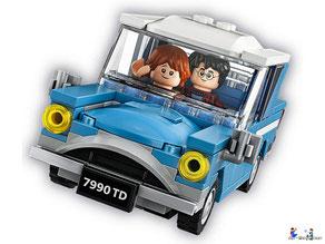 Im Lego Paket 75968 ist ein fliegendes Auto mit aufklappbarem Dach enthalten.