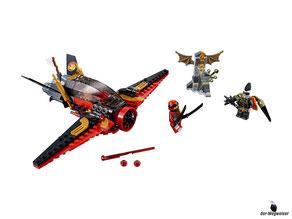 Im Paket Lego 70650 sind 181 Einzelteile enthalten.