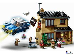 Im Paket Lego 75968 sind 797 Einzelteile enthalten.