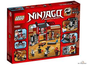 Im Paket Lego 70591 sind 207 Einzelteile enthalten.