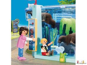 Besonderheiten im Playmobil Paket 9366 können bis zu 3 Passagiere gleichzeitig im Ferienflieger reisen.