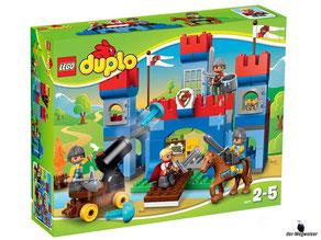 """Bei der  Bestellung im Onlineshop der-Wegweiser erhalten Sie das Lego Paket 10577 """"Duplo grosse Schlossburg""""."""