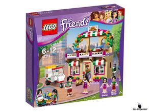 """Bei der Bestellung im Onlineshop der-Wegweiser erhalten Sie das Lego Paket 41311 """"Heartlake Pizzeria""""."""