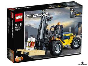 """Bei der Bestellung im Onlineshop der-Wegweiser erhalten Sie das Lego Technic Paket 42079 """"Schwerlast-Gabelstapler""""."""