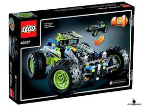 """Bei der Bestellung im Onlineshop der-Wegweiser erhalten Sie das Lego Paket 42037 """"Formula OFF-Roader""""."""