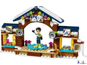 Im Paket Lego 41322 das grosse Rennen sind 307 Einzelteile enthalten.