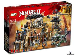 """Bei Bestellung im Onlineshop der-Wegweiser erhalten Sie das Lego Paket 70655 """"Drachengrube""""."""