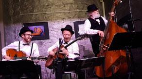 Musique Jazz, Bounce Trio, Mathieu Marthouret, Toine Thys, Gautier Garrigue, Serge Lazarevitch,