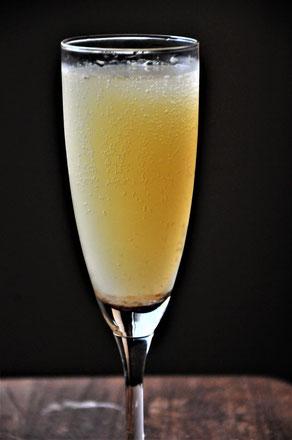 エルダーフラワー&無農薬の桃を醗酵させたジュース@すどう農園