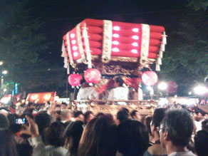 布団太鼓♪