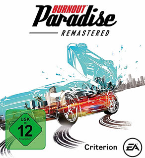 Burnout Paradise Remastered- Cover