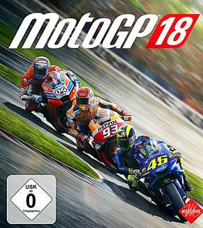 MotoGP 18 - Cover