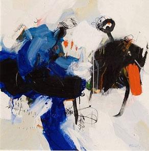 Peinture abstraite acrylique sur toile - peinture abstraite contemporaine - peinture abstraite moderne - peinture acrylique moderne - peinture acrylique toile contemporaine - peinture art abstrait - peinture d'art abstrait - peinture abstraite