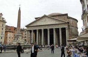 Pantheon von außen