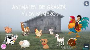 ANIMALES DE GRANJA Y LOS NÚMEROS
